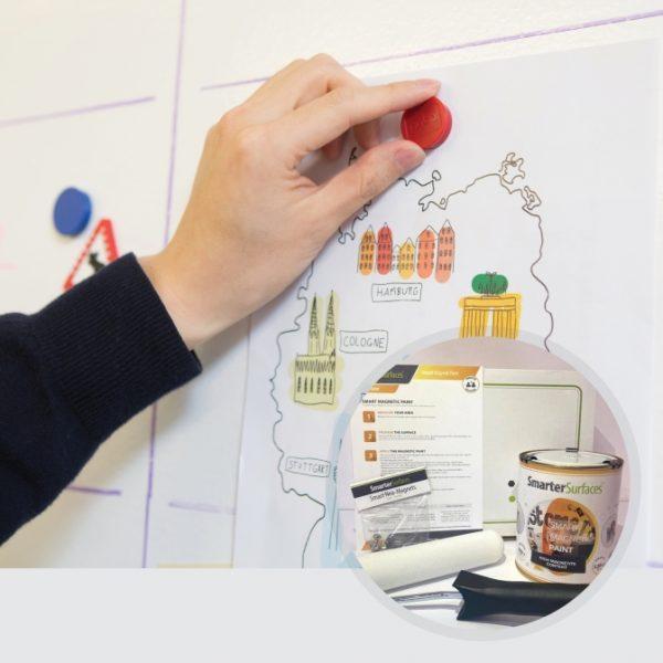 Smart-Magnetfarbe-in-Verwendung-mit-Kit-auf-Anzeige
