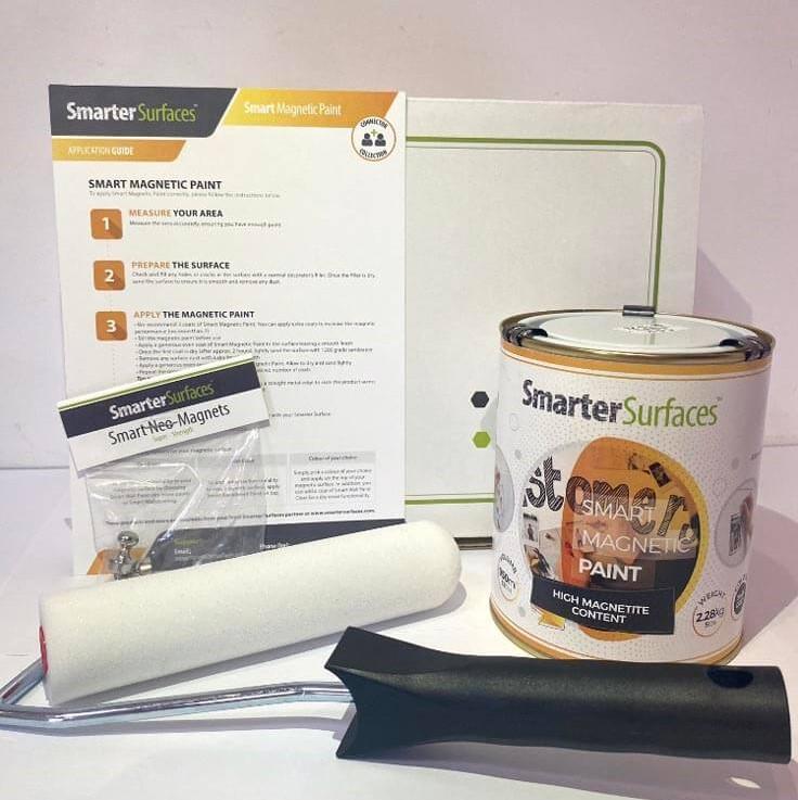 Smart-Magnetfarbe-komplettes-Kit-Box-und-Anwendungsanleitung