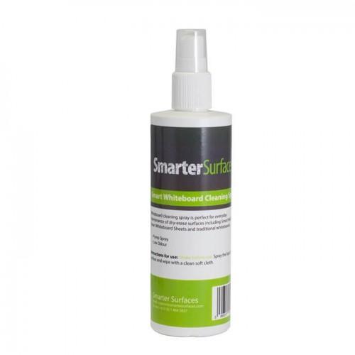 Flasche der Smarter Surfaces Smart Weißwandtafel-Reinigungsflüssigkeit