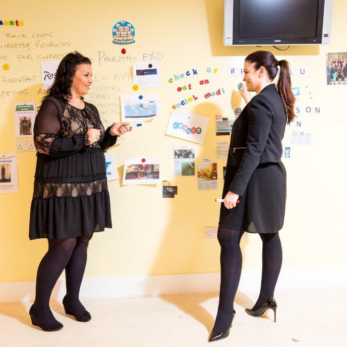 Smart Magnetische Whiteboard Farbe Transparent für Meetings Besprechungen