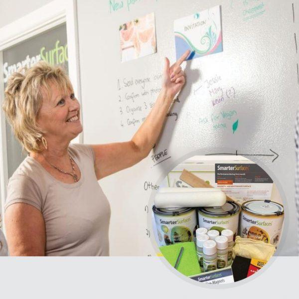 Smart-Magnetische-Whiteboard-Farbe-Transparent-in-Verwendung-mit-Kit-auf-Anzeige