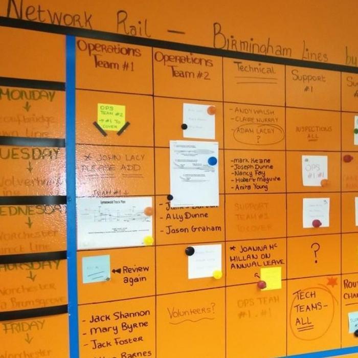 Smart Magnetische Whiteboard Farbe Transparent Kalender Planung Arbeitsplan