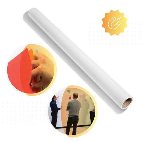 rolle von smart magnetischer tapete von Smarter Surfaces