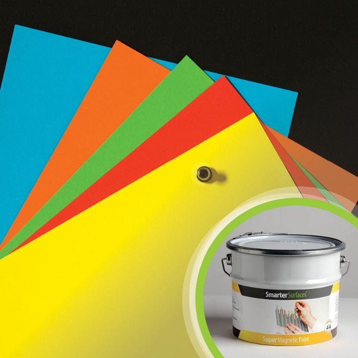 Smart Super Magnetfarbe Kombination Produktbild und installiert 1