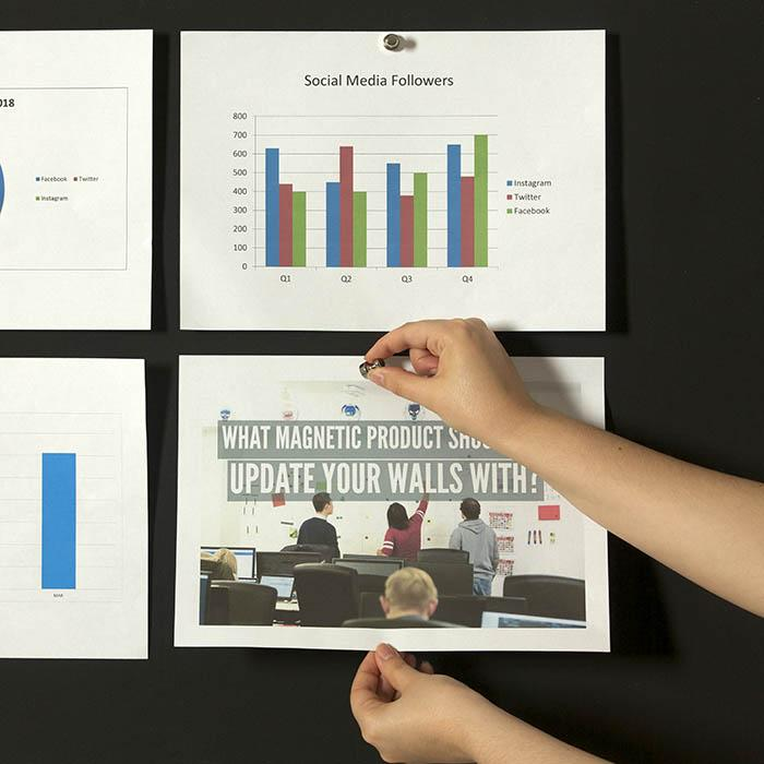 Smart Super Magnetfarbe für Notizen Meetings