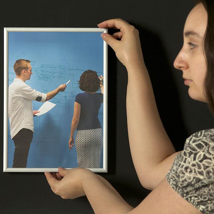 Smart Super Magnetische Farbe Bilderrahmen Bild anhängen