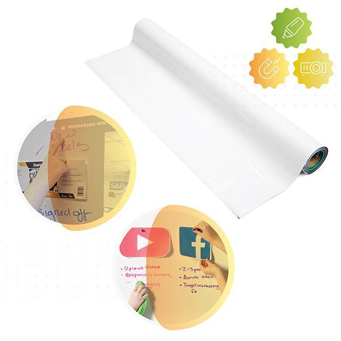 Smart Whiteboard Magnetische Leinwand Tapete
