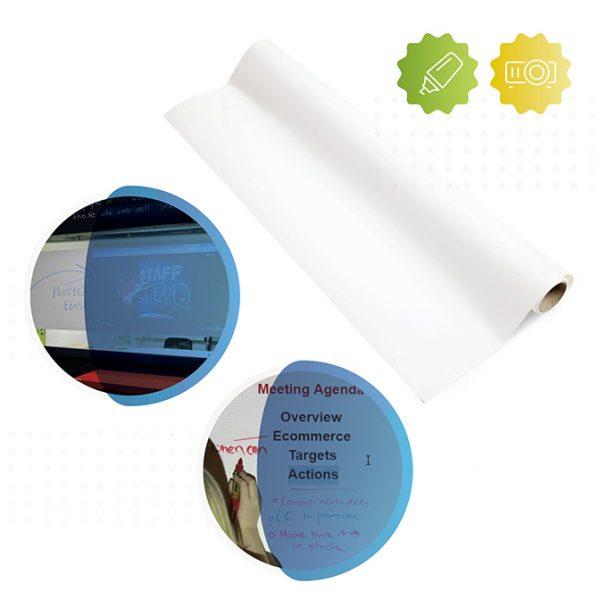 rolle von smart selbstklebende whiteboard und leinwand folie in matt von Smarter Surfaces