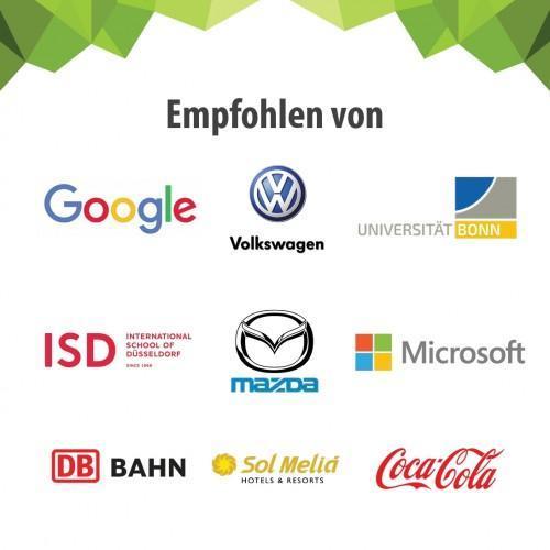 Smart Magnetische Whiteboard Beamer Tapete Kunden Deutschland