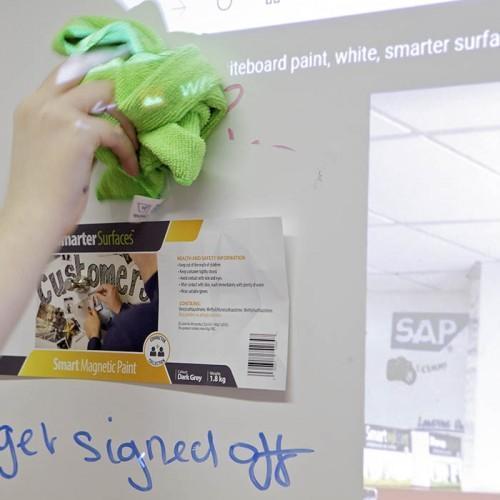 Smart Magnetische Whiteboard Beamer Tapete Reinigung Mikrofaser Reinigungstuch