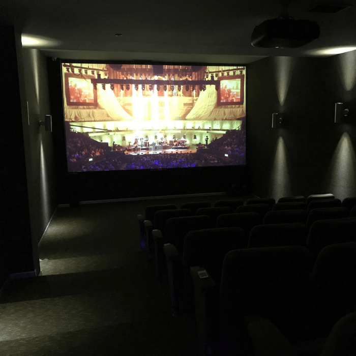 Smart Leinwandfarbe Kontrast für Filmvorführung Filme
