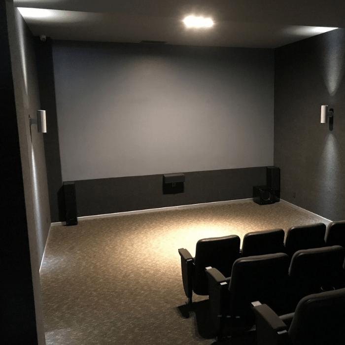 Smart Leinwandfarbe Kontrast für kleines Kino Theater