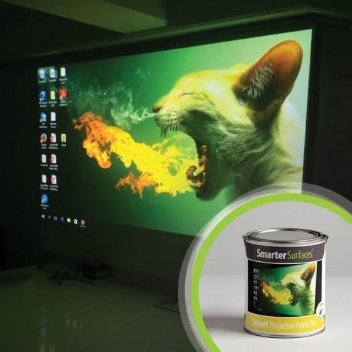 Smart Leinwandfarbe Pro für Heimkino