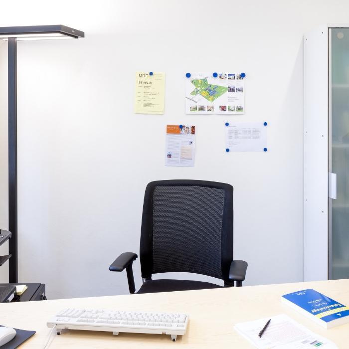 Smart Magnetputz auf Wand im Büro