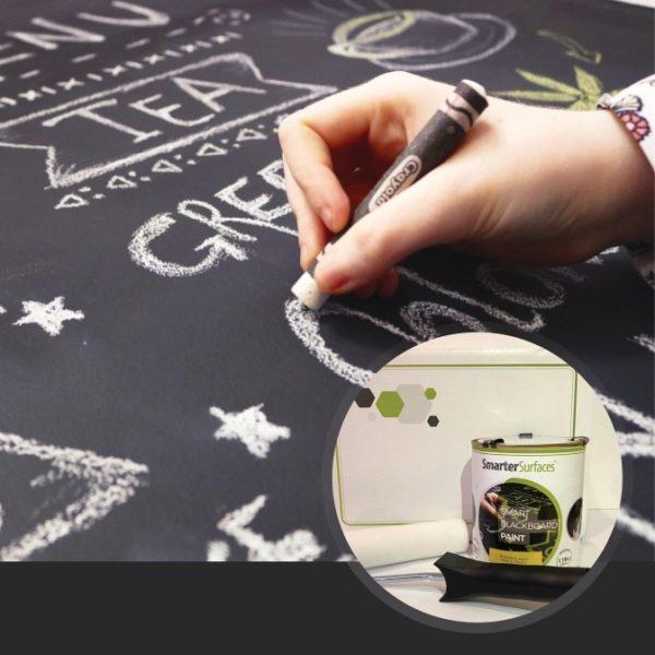 Smart-Tafelfarbe-in-Verwendung-mit-Kit-auf-Anzeige