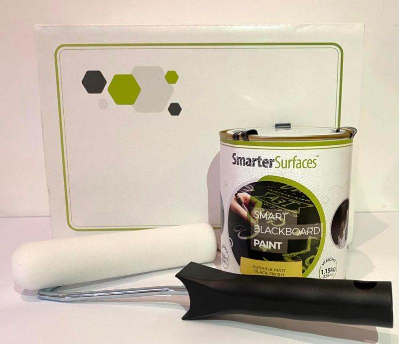 Smart-schwarze-Tafelfarbe-komplettes-Kit-mit-Box