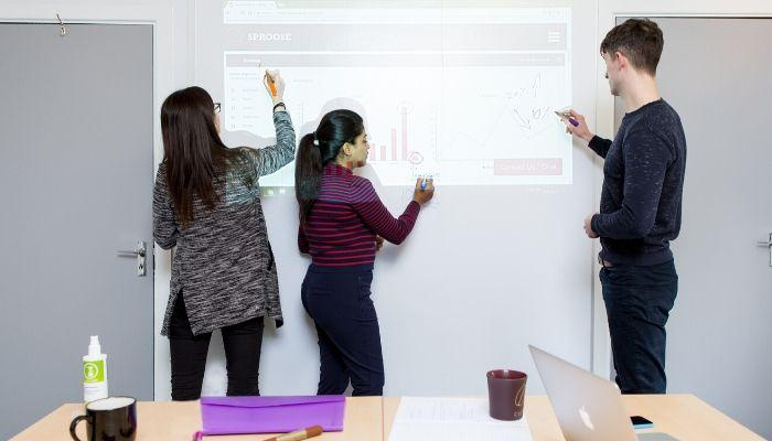 Smart-Projector-dry-erase-Wallcovering-meetings-Business-productivity