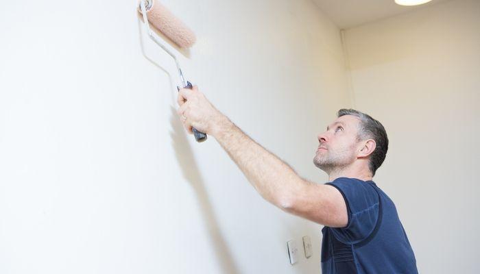 beschreibbare Wände-Whiteboard-Farbe-auftragen-Installateur-Laie-multufunktionale-Wand
